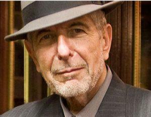תמונה של ליאונרד כהן בגיל 82